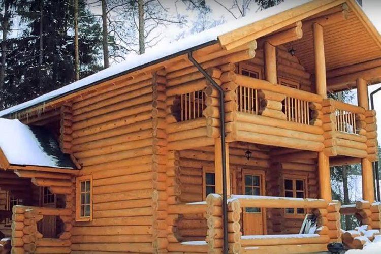 Принимаем заказы на срубы из зимнего леса 2020